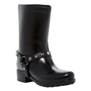 Dirty Laundry Rock Steady Studded Rubber Rainboots